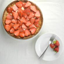 Tart: Simple Strawberry Tart