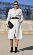 Chic in White at PFW
