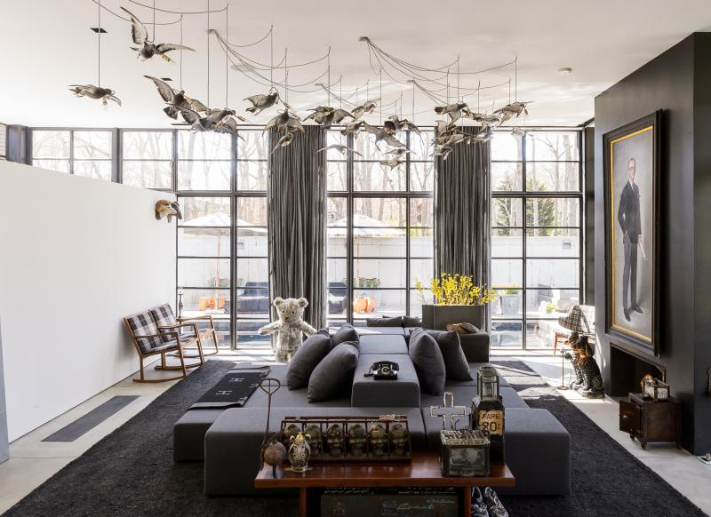 Living Room Ideas New Build be inspiredthis cool, contemporary new york new-build - the