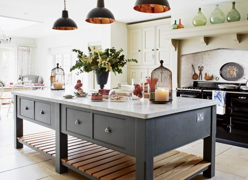 Open Country Kitchen Design