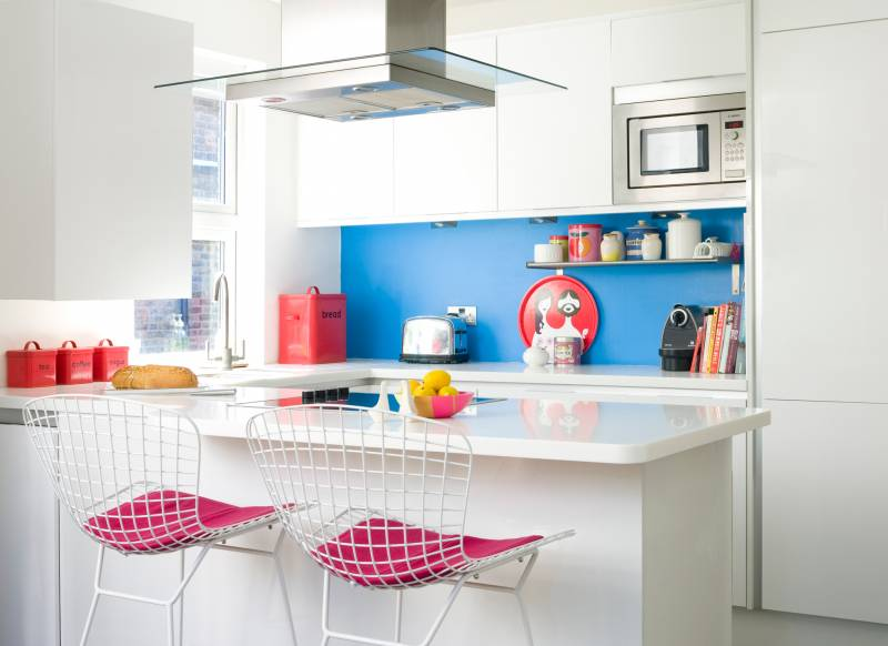 Http Www Theroomedit Com Ideas Make Every Inch Count A Stylish Compact Kitchen Scheme