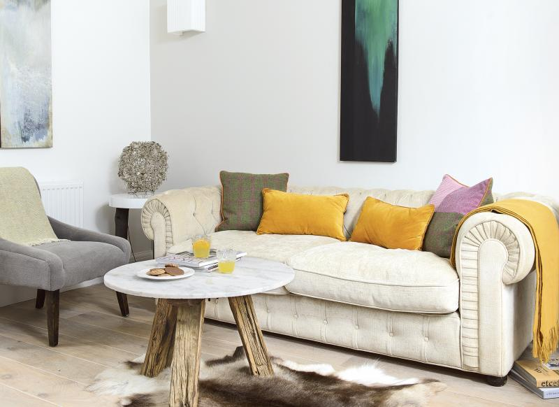 Living Room Ideas New Build step inside this pretty new-build flat in london - the room edit