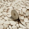 Ceramica Natural Pebbles Wallpaper