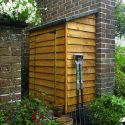 Tall Garden Overlap Wall Storage