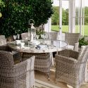 Dante 6 Seater Outdoor Dining Table