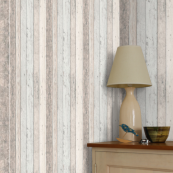 Albany Blue Wood Panelling Wallpaper
