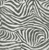 Graham & Brown Black and White Zebra Wallpaper