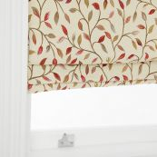 Red Nut Voyage Cervino Roman Blind