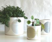 Set of 3 Pots by Camilla Engdahl