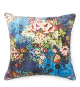 Distressed Floral Cushion