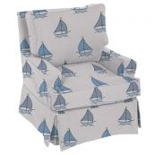 Sailboat Nursery Glider Chair