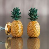 Pineapple Ceramic Knob