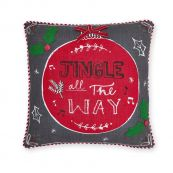Musical Jingle Bell Cushion