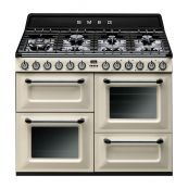 Smeg Dual Fuel Range Cooker with Gas Hob