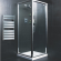 Moretti Square Shower Enclosure Silver