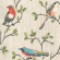 Garden Birds Wallpaper