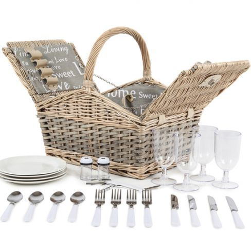 Two-Tone Picnic Hamper