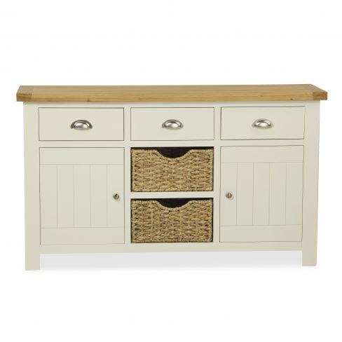 Hazelwood Home Two Door Three Drawer Sideboard