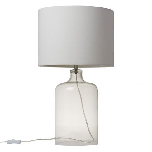 Croft Collection William Glass Bottle Table Lamp
