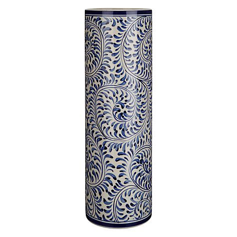 Maison Patterned Ceramic Vase