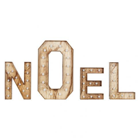 Noel Christmas Light Sign