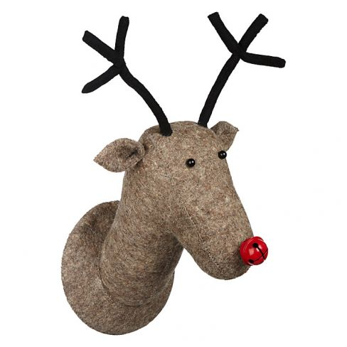 Reindeer Head Decoration