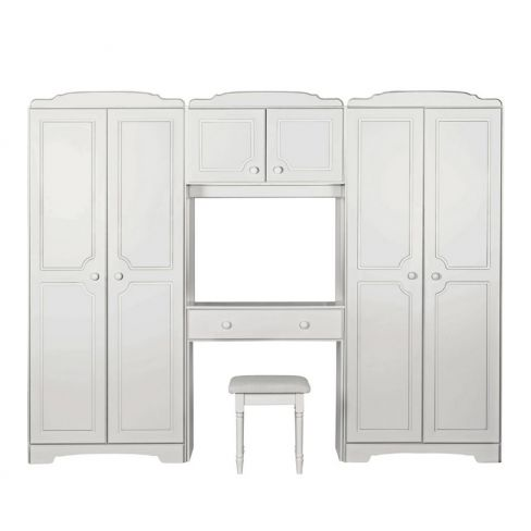 Nordic Wardrobe Fitment and Stool