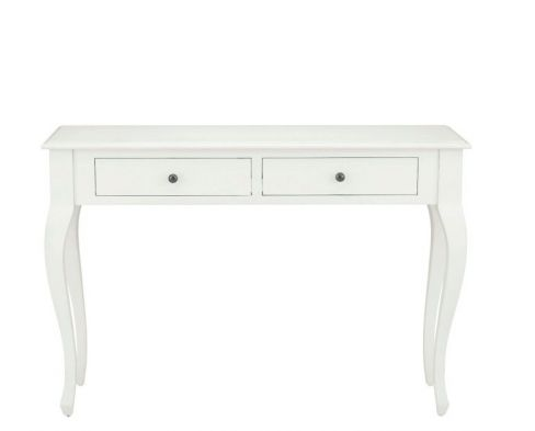 Rosalind Cotton White Console Table