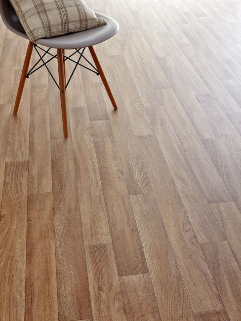 Vinyl flooring our pick of the best for Lino flooring wood effect
