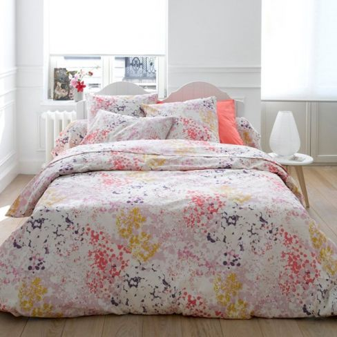 Élia Cotton Printed Duvet Cover