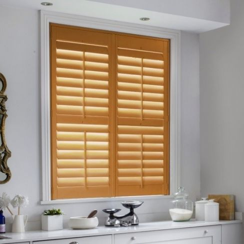 New Hampshire Oak Shutters