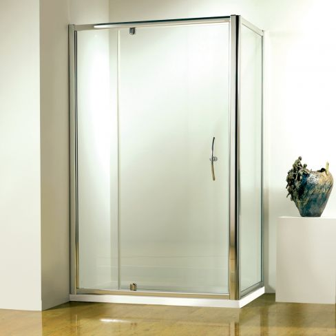 Shower Enclosure with Pivot Front Door