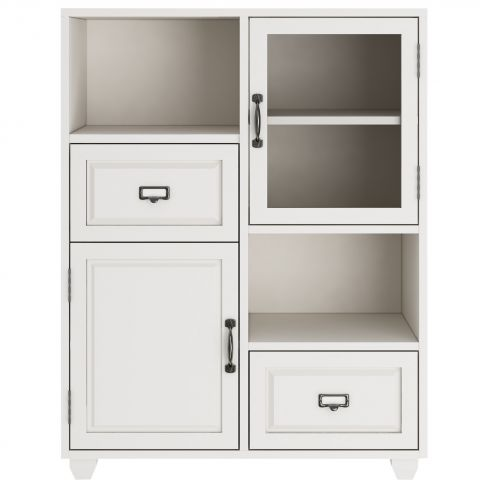 Apothecary Double Towel Cupboard