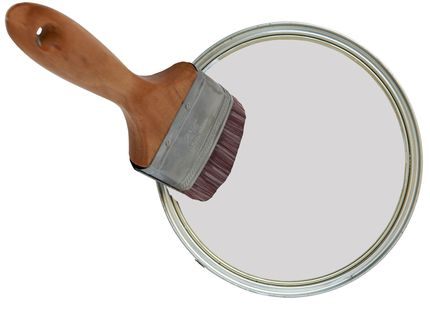 Water Based Paint in Dove Grey