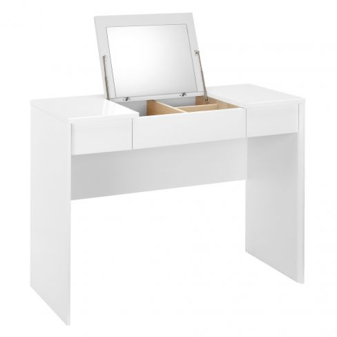 Napoli Gloss Dressing Table in White