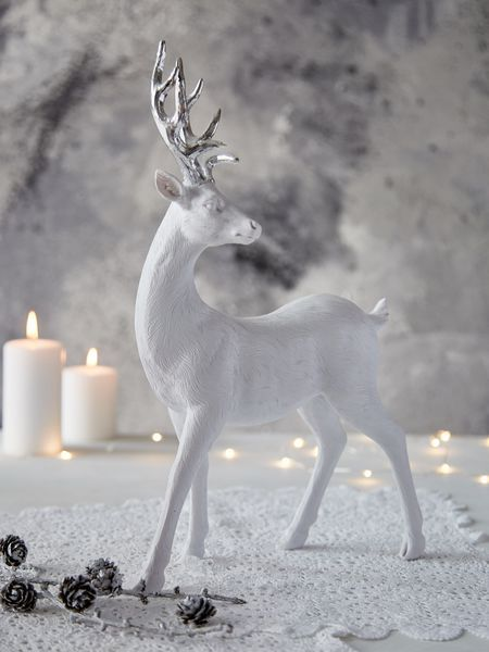 Large Nordic White Deer
