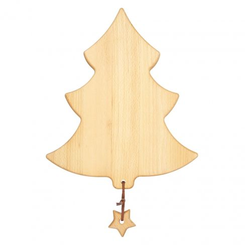 Christmas Tree Board with Star