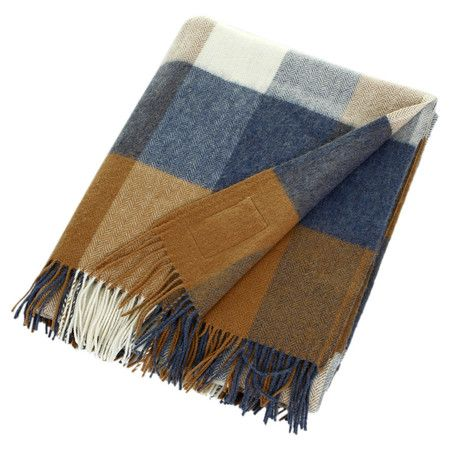 Avoca Lambswool Throw