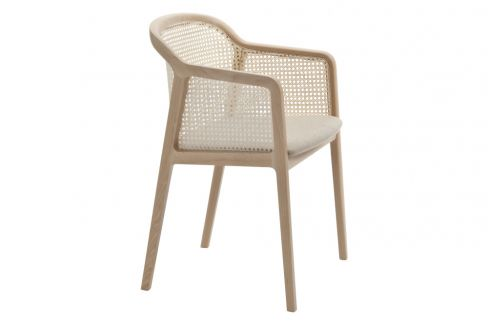 Vienna Armchair in Beech Beige by Colé Italian Design Label