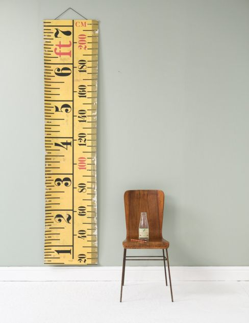 Height Ruler Wall Chart