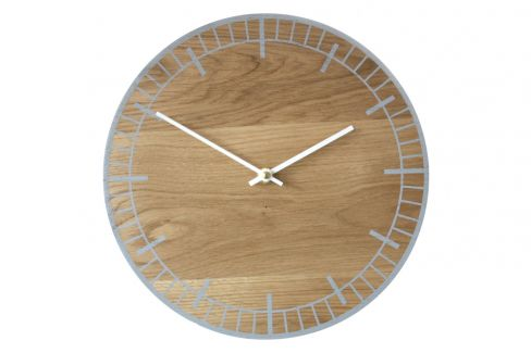 S2 Grey Wall Clock by Psalt Design