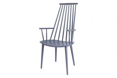 J110 Grey Chair by HAY