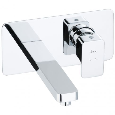 Abode Fervour Wall Mounted Basin Mixer Tap