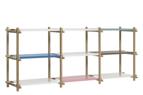Hay Woody Shelving System