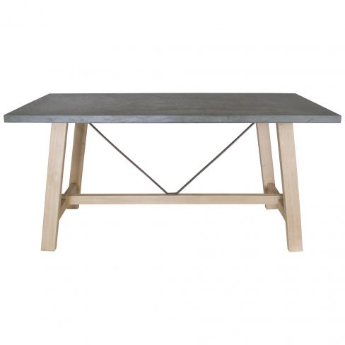 Hudson Living Chilson Trestle 6 Seater Dining Table