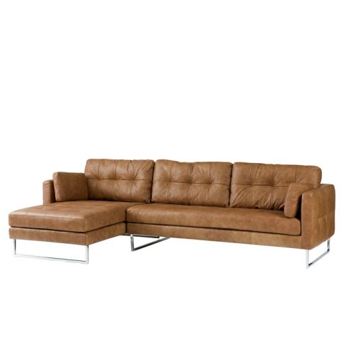 Paris Leather Corner Sofa
