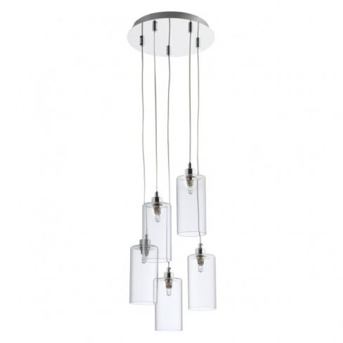 Anni Glass and Metal Cluster Light