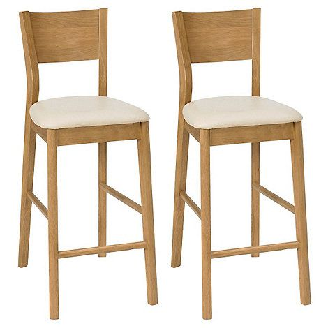 Milano Oak Effect Bar Stools