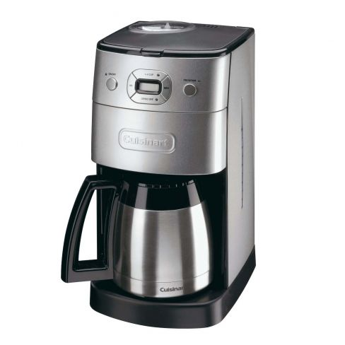 Cuisinart Grind & Brew DGB650BCU Bean-to-Cup Coffee Machine