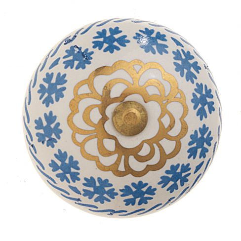 Decorative Ceramic Drawer Pull